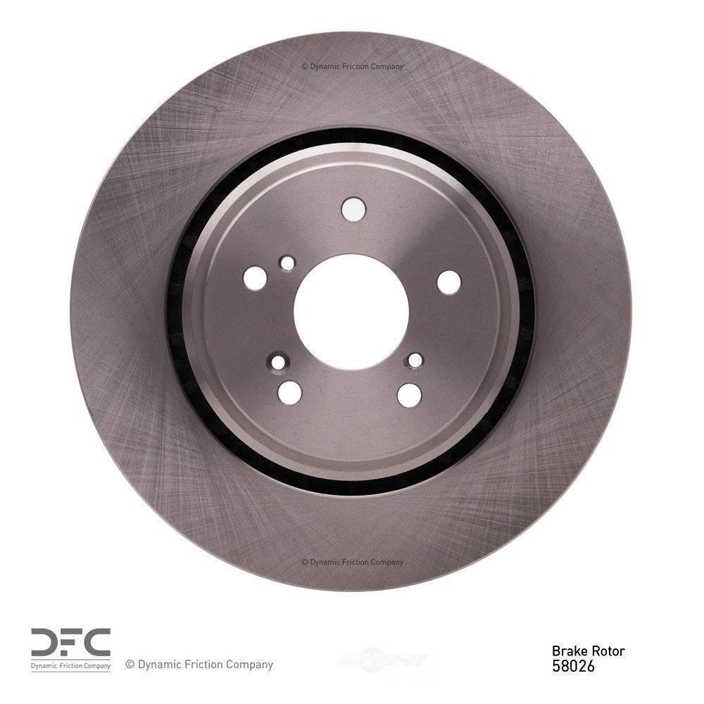 Parts Automotive Front Dynamic Friction Company Disc Brake Rotor ...