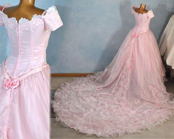 Glinda Wicked Dress Two Piece sz 6-8 Detachable Skirt | Glinda ...
