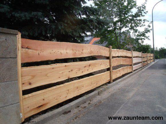 Zaun und Tor Referenzen von Zaunteam - Bohlenzaun, 96247 Michelau - gartenzaun holz selber bauen