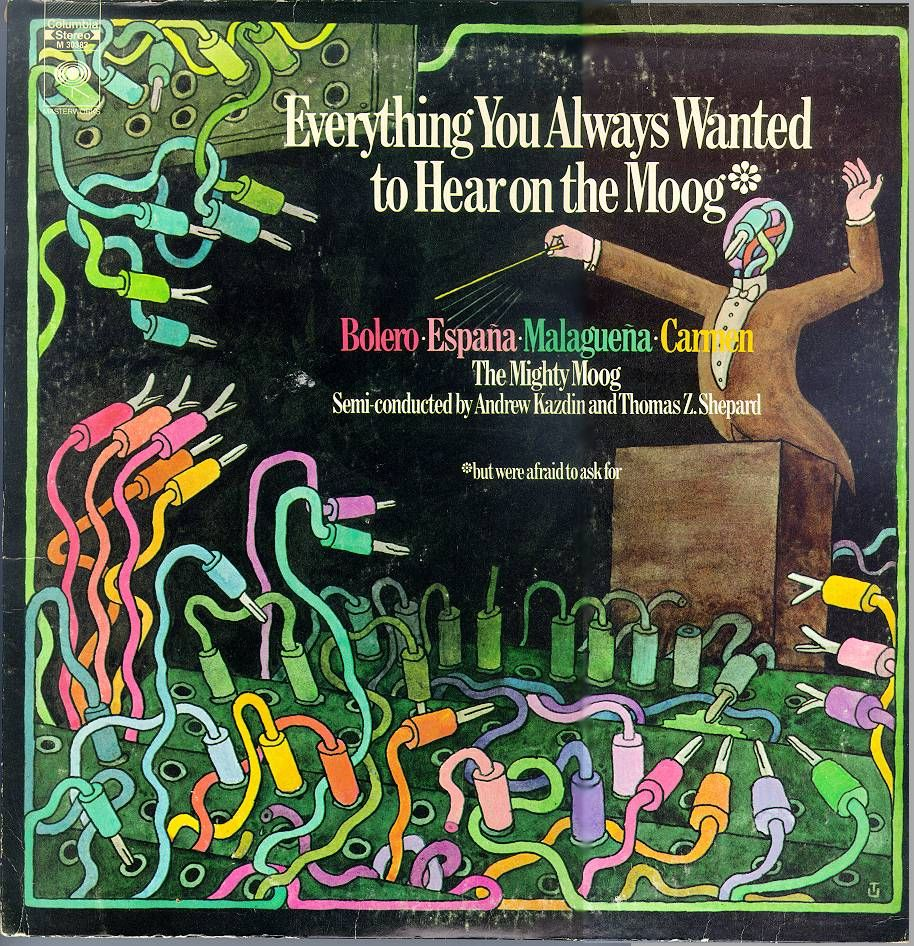Everything You Always Wanted To Hear On The Moog Retro Music Art Moog Vinyl Artwork