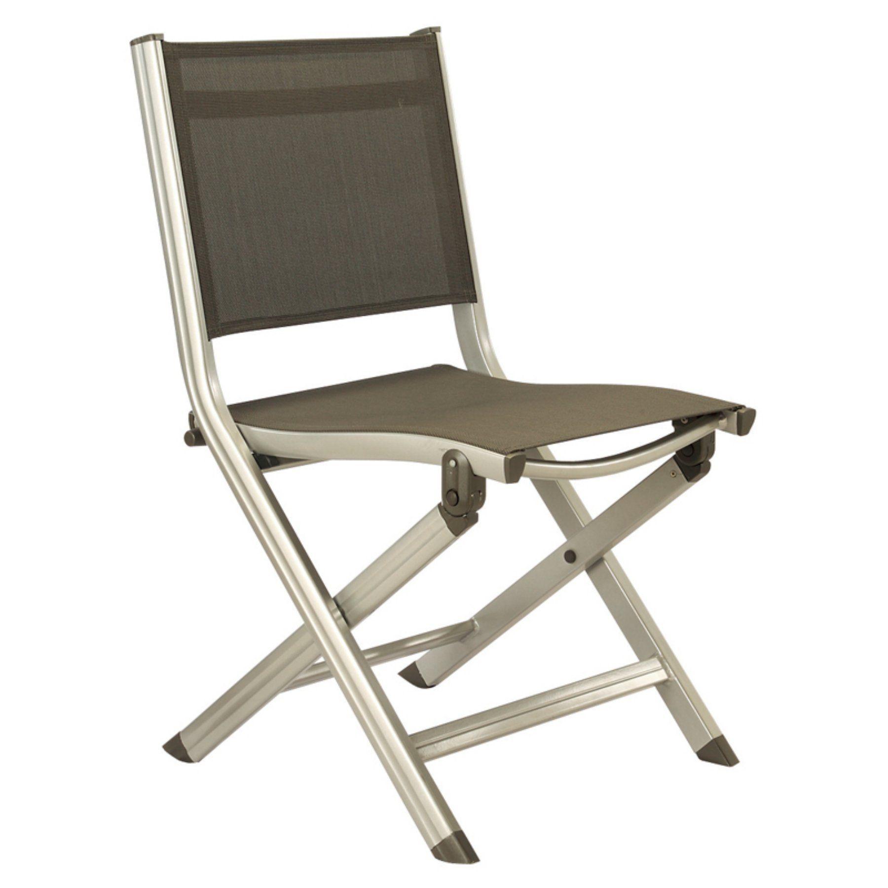 Outdoor Kettler Basic Plus Folding Side Chair - 301218-0000 | Side ...
