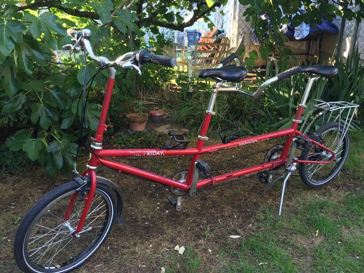 Bike friday tandem bike friday tandem riding