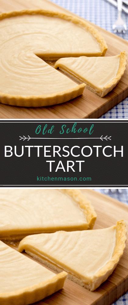 Old School Butterscotch Tart images