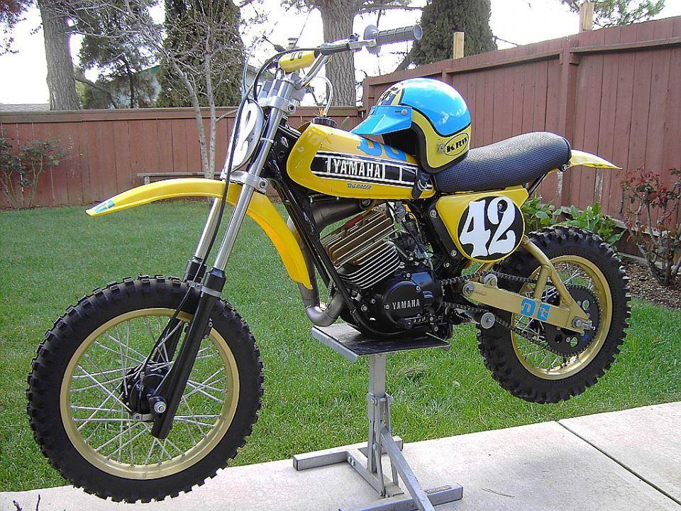 1978 Yamaha Yz80 Dg Package Racer Vintage Motocross Motorcycle Dirt Bike Classic Bikes