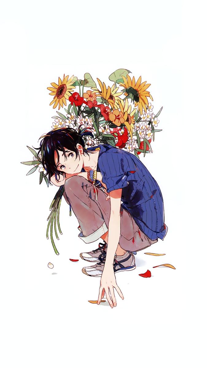 Umibe No Etranger Mobile Wallpaper In 2020 Illustration Manga Art Character Design