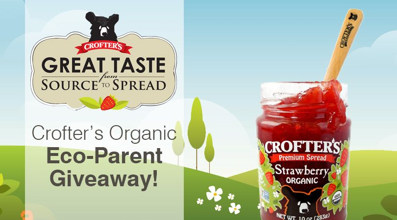 Win Crofter's Organic prize pack & 1 year subscription to Eco Parent Magazine. Ends 1/6 (US/CAN)