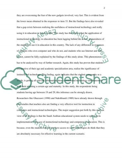 sample research paper about gadgets