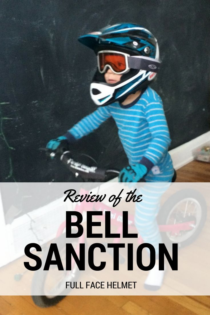 bell sanction kids full face helmet review biking with. Black Bedroom Furniture Sets. Home Design Ideas