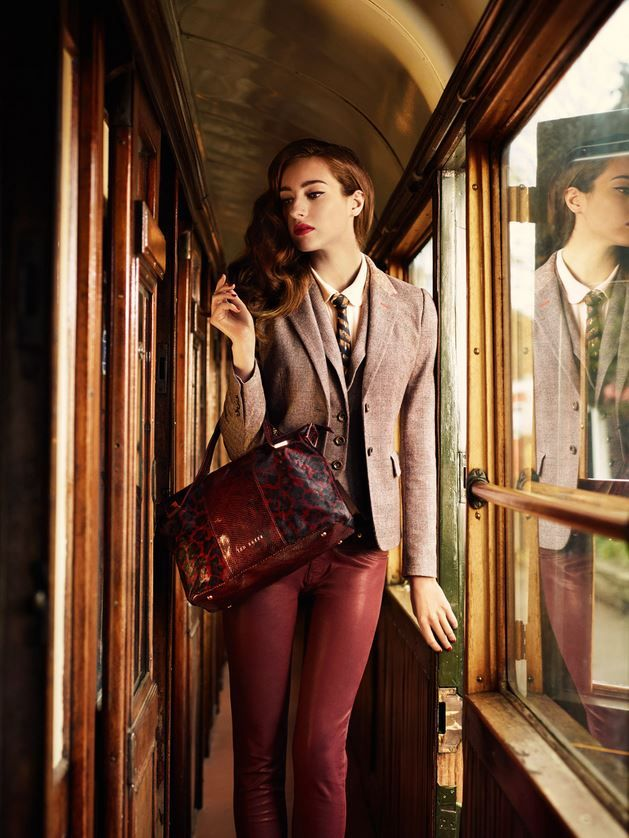 Ted Baker Fall 2013 - boyish outfit