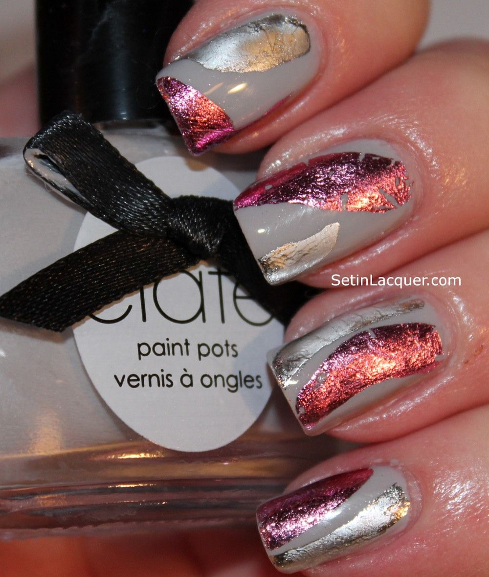 Ciaté Very Colourfoil kit has a variety of foil sheets to choose ...