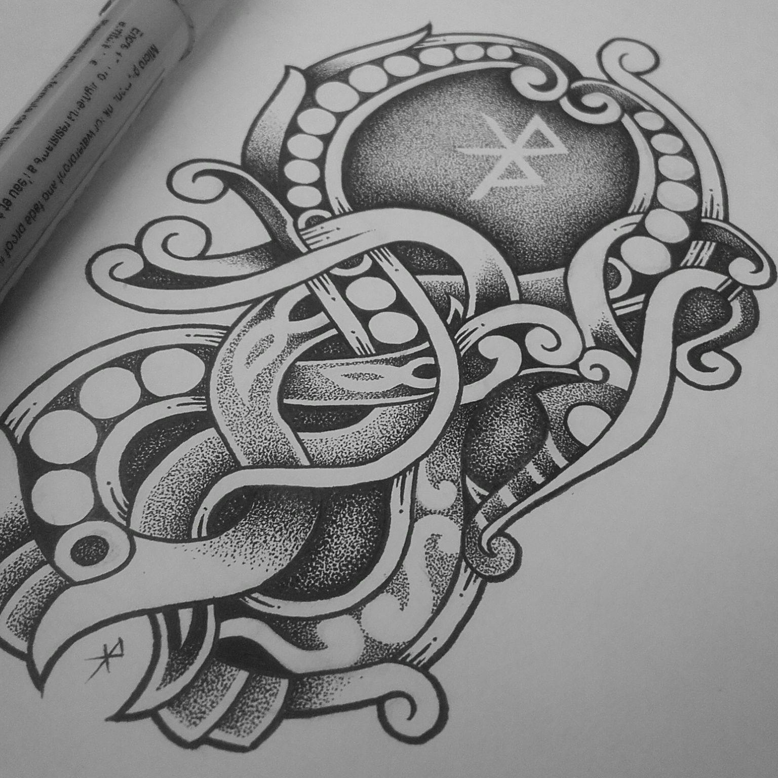 Viking Tattoos Image By Adam Beadling On Tattoos Norse Tattoo