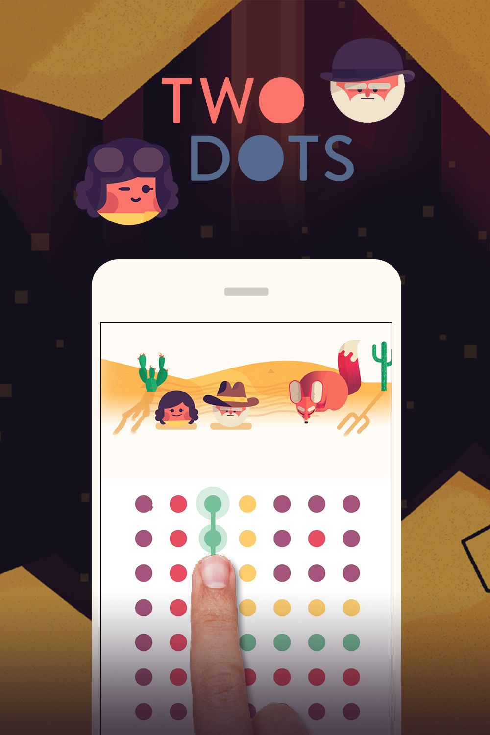 Two Dots Is A Puzzle Game That S Free To Play And Loved By Millions Two Dots Dots Fun
