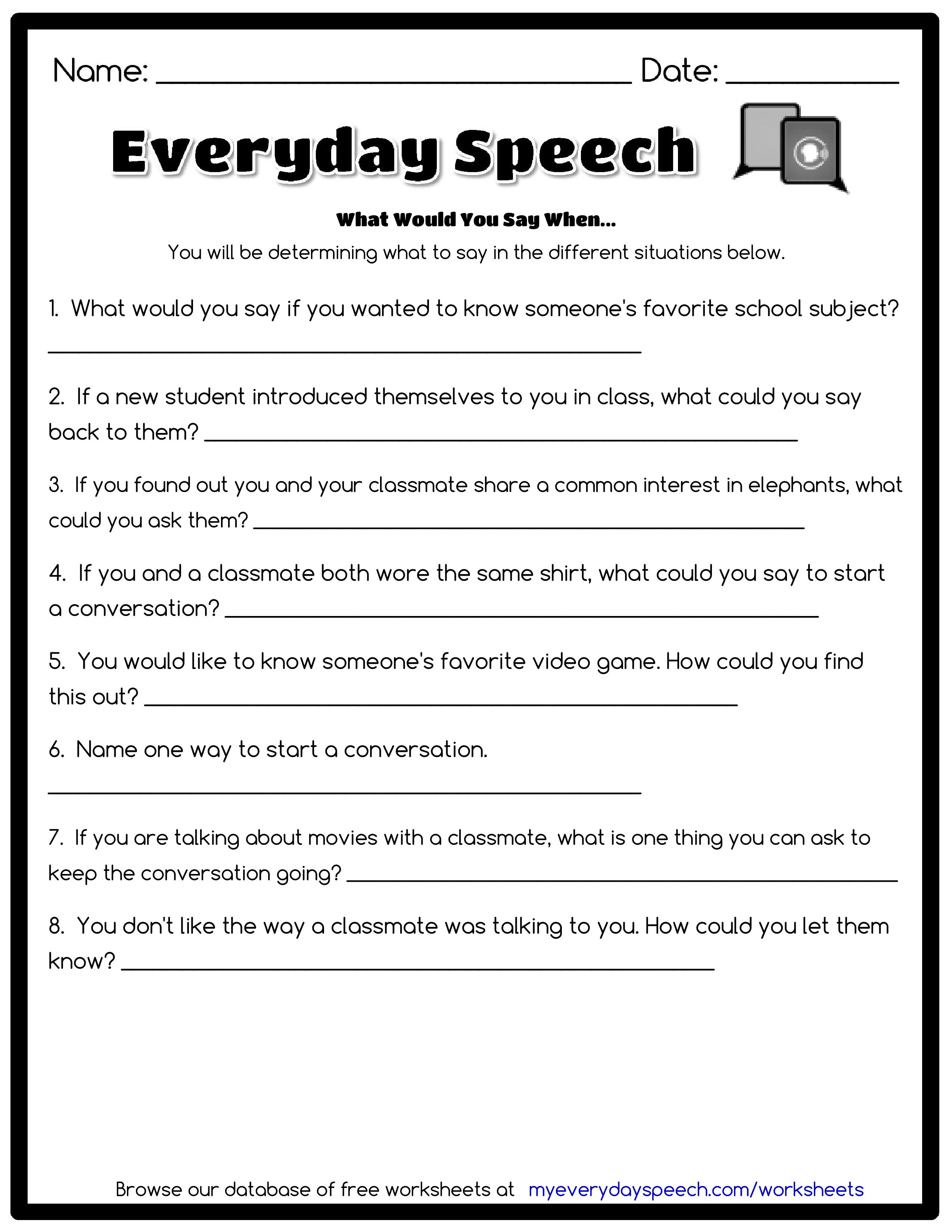 Worksheets Free Worksheet Creator check out the worksheet i just made using everyday speechs creator what would you