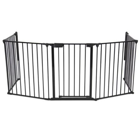 Best Choice Products Baby Safety Fence Hearth Gate Bbq Fire Gate