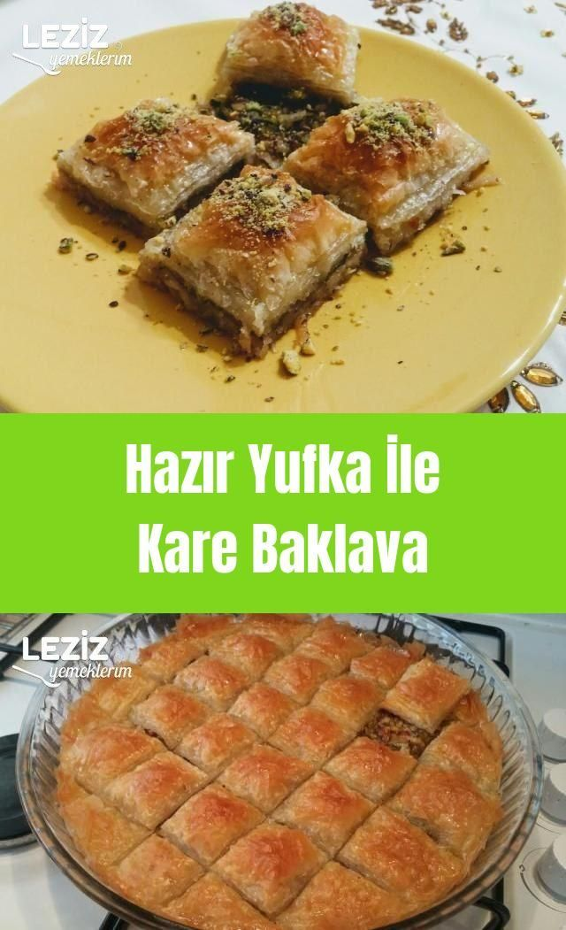 Photo of Ready baked square baklava – my delicious …