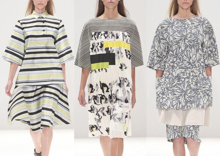 London Fashion Week Primavera / Verano 2014 Imprimir Highlights Parte 1 pasarelas