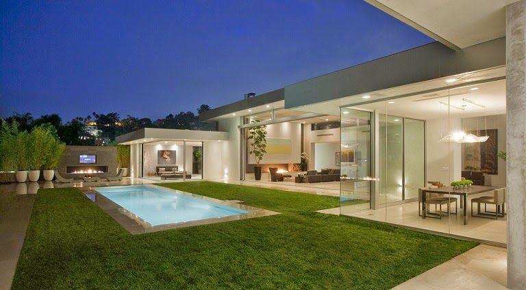 Pin de arquitectura y dise o arquitexs magazine en casas for Casa minimalista harborview hills