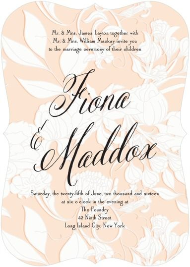 Pottery Barn Curated Wedding Stationery Collection Wedding paper