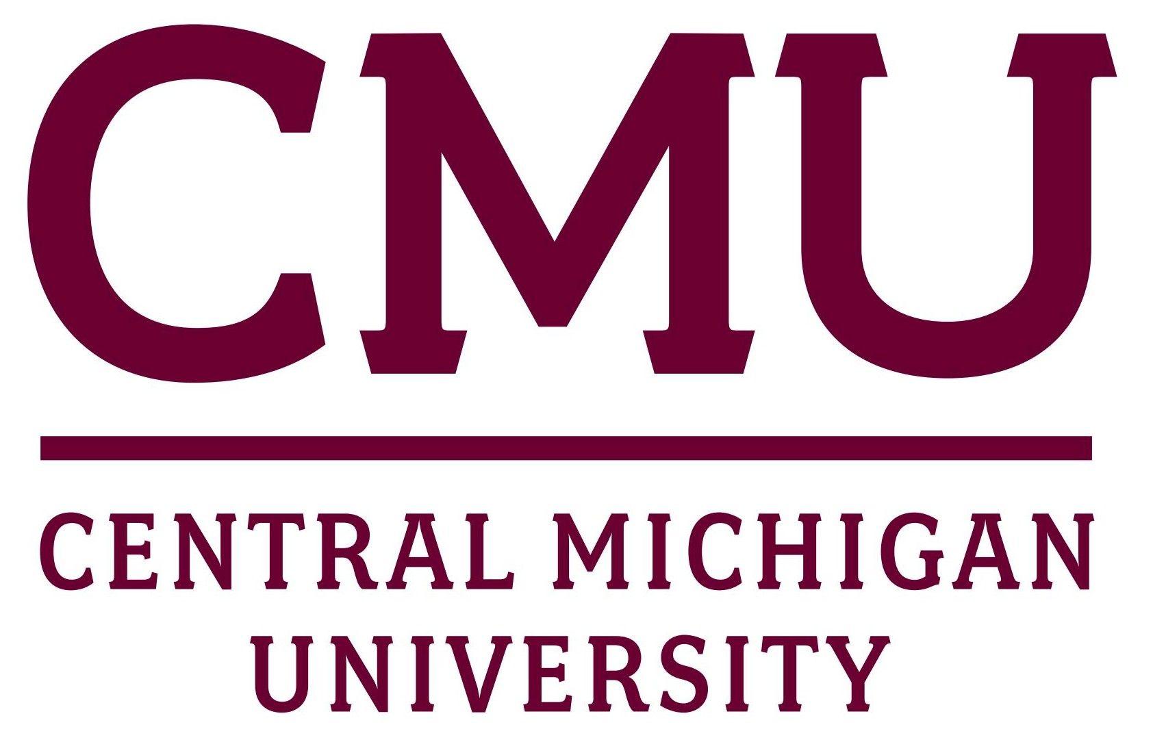 Central Michigan University Cmu Logo Central Michigan University Central Michigan Online University