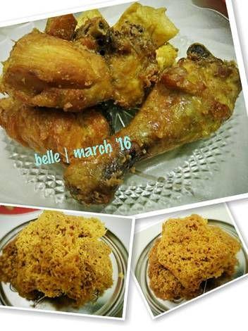 Resep Ayam Goreng Kremes A La Mbok Berek Kremesan Renyah Dan Bersarang Oleh Your Kitchen Pal Resep Resep Ayam Ayam Goreng Resep