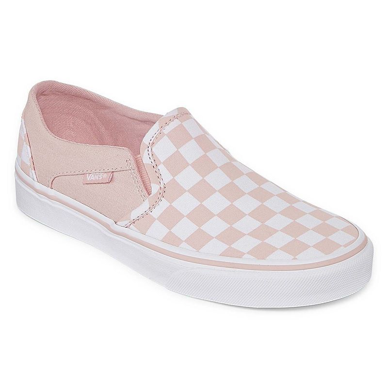 a607ffba98836 Vans Asher Slip-On Womens Skate Shoes