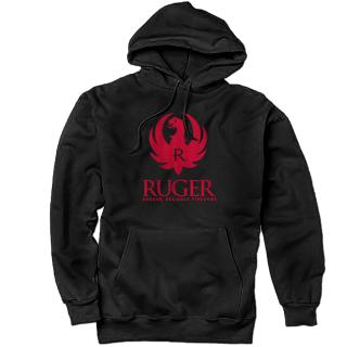 f0ea2bfd076 Sweatshirts    Ruger Sweatshirt - 440-1796 RGR LOGO HOODIE BLACK -