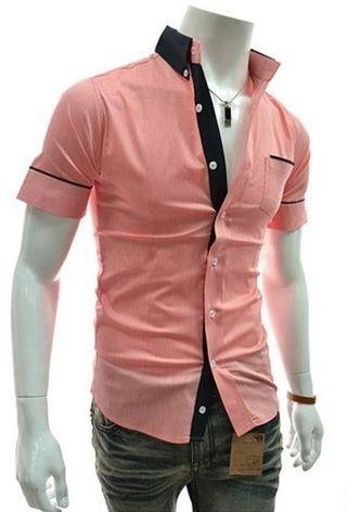 Camisa Sport Casual Chic - Rosada 7eb79c537bca3