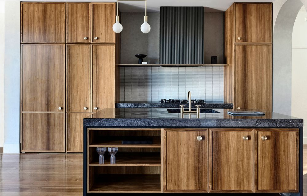 Mark and Louella Tuckey and Family Kitchen remodel