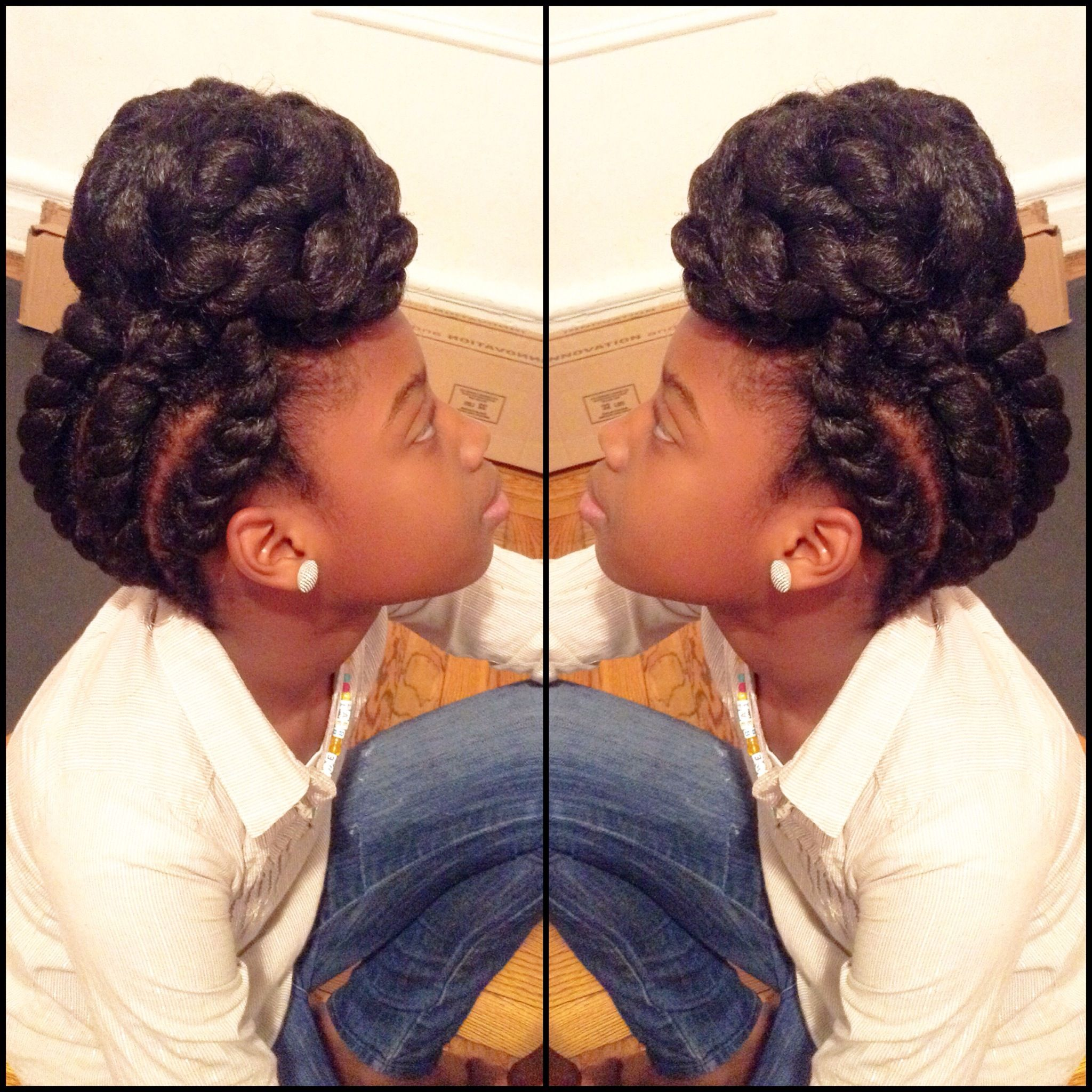 Natural Protective Hairstyles Www Simsimstyles Page 4