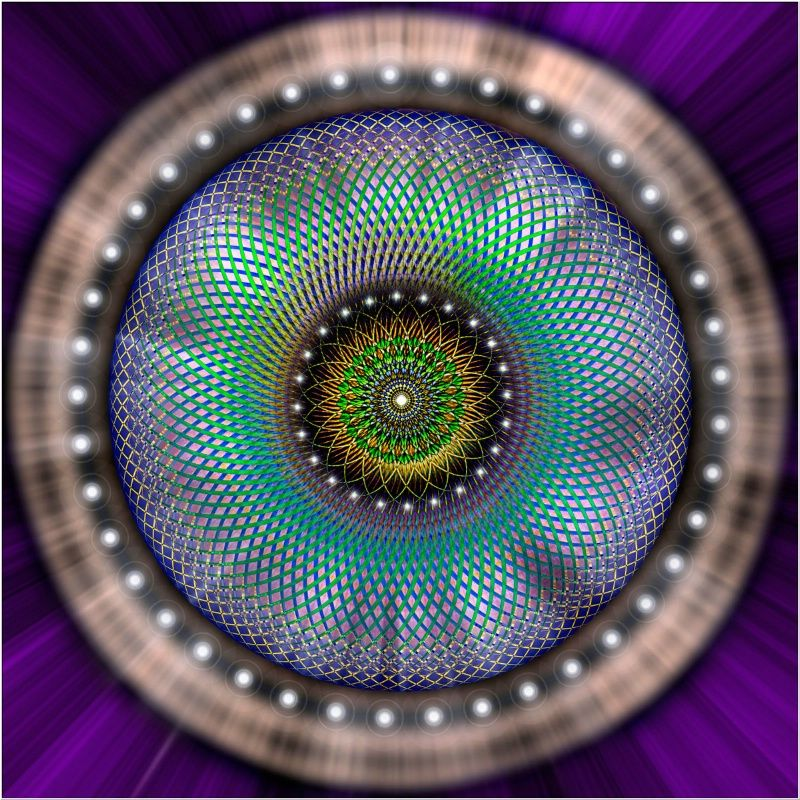 Sacred Geometry 108 & 109 Combined - ID: 12774315 © Endre  Balogh