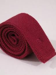 Flat End Tie - Wore one of these bad boys to work because I want to be a 1960's detective.