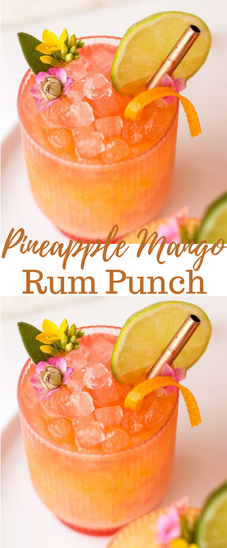 Photo of Pineapple Mango Rum Punch #drink