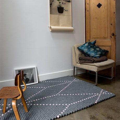 200x150 Teppich - Grau/Rosa - alt_image_three interior Pinterest - teppich wohnzimmer grau