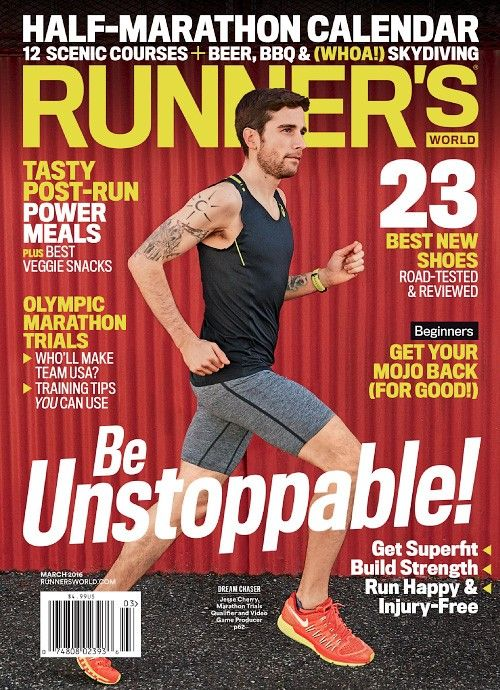 Runners World USA - March 2016