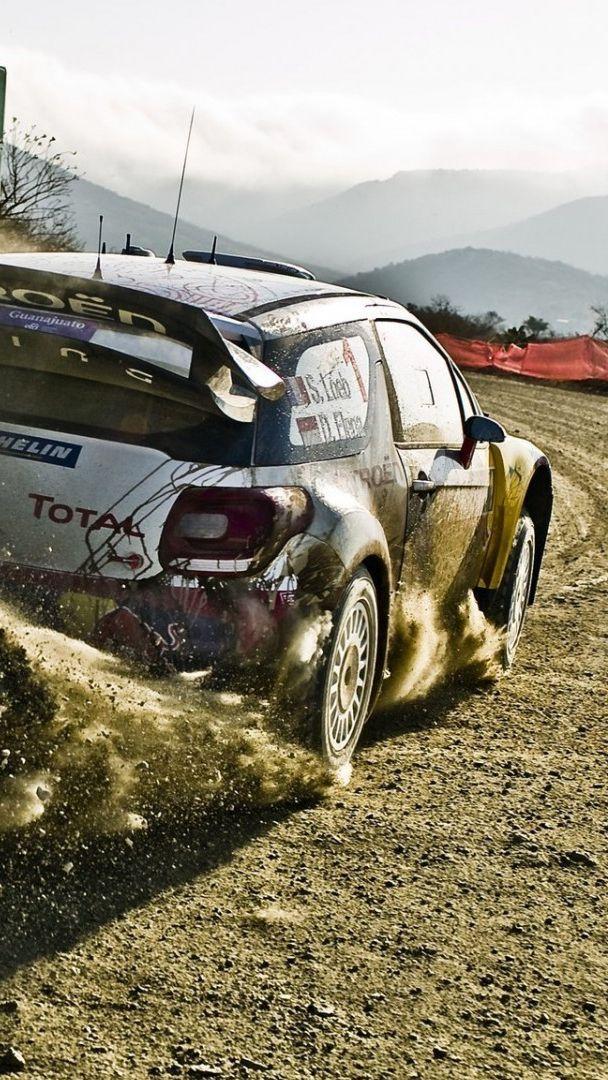Citroen Rally Car Drifting Iphone Wallpaper Iphone Wallpapers