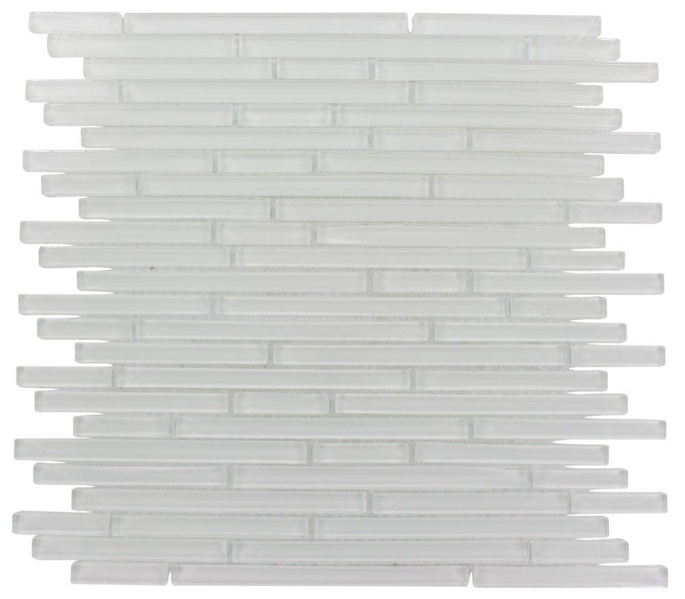 Splashback Tile Tectonic Harmony Green Quartz Slate And: Torpedo Pattern 1/4 X Random Super White Glass Mosaic