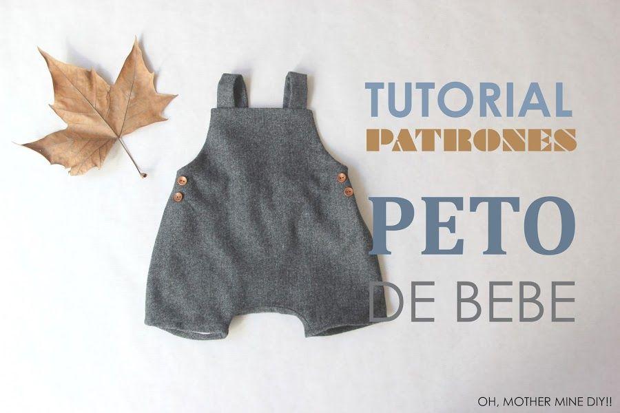 Peto forrado para bebé, ¡descarga el patrón y sigue el tutorial ...