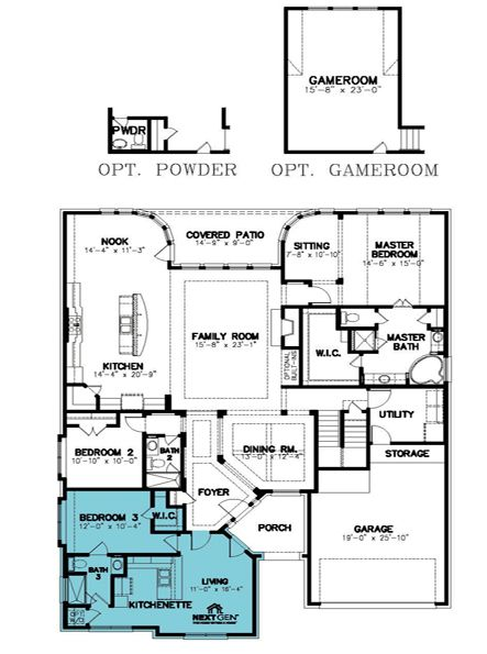 Lennar 174 Multigenerational Home For The Home Guest
