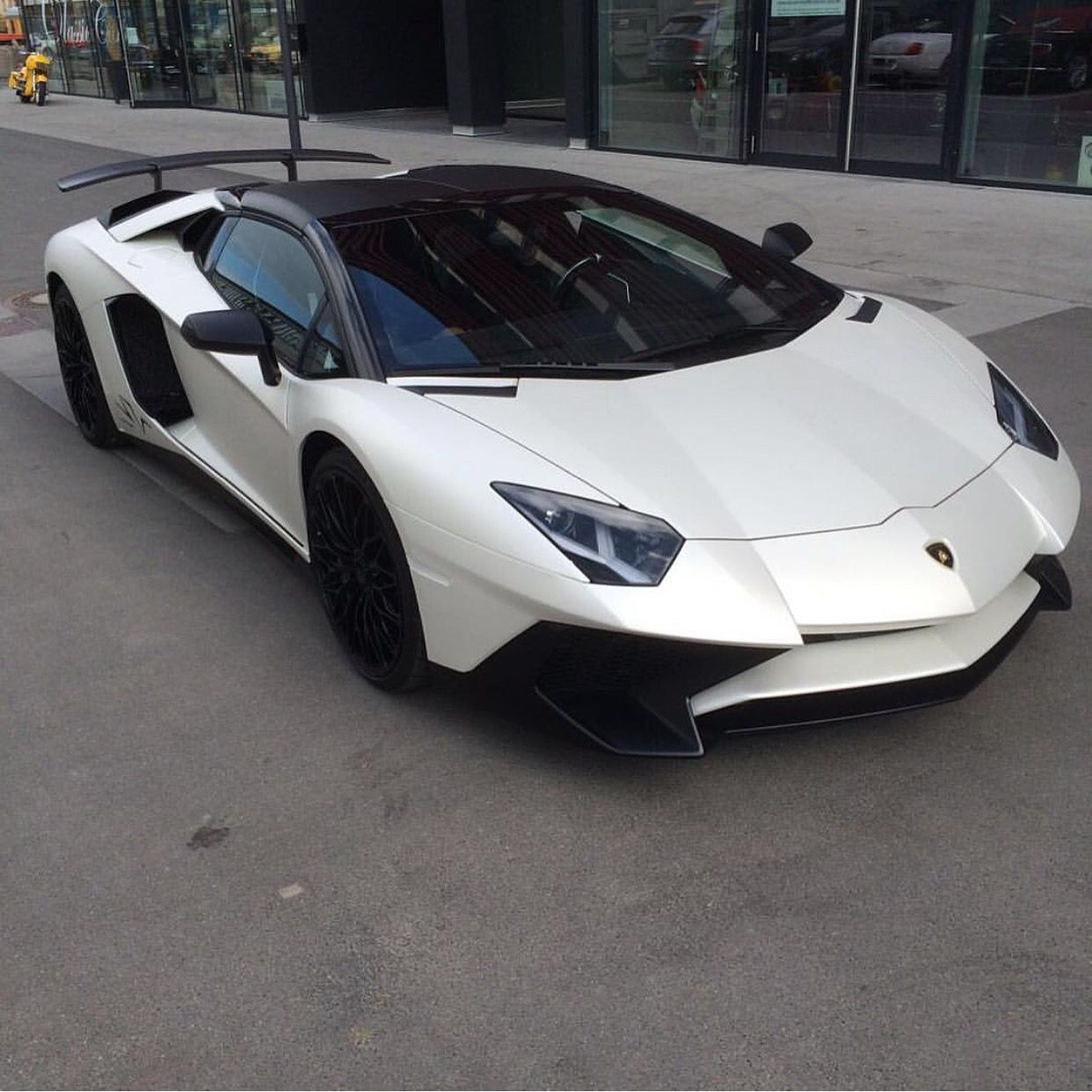 Lamborghini Aventador Super Veloce Roadster Painted In