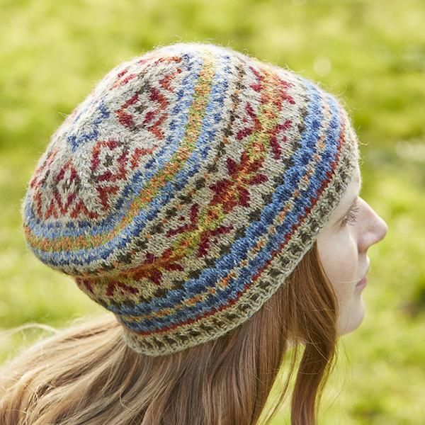 GEORGIA FAIRISLE TAM KIT | Fair Isle Knitting | Pinterest | Fair ...
