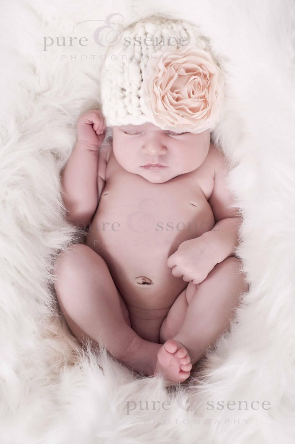 Knit Baby Hat Pattern - This is such an easy knit! I just need to ...