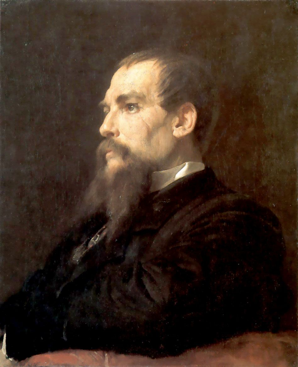 """""""Do what thy manhood bids thee do, From none but self expect applause: He noblest lives and noblest dies Who makes and keeps his self-made laws."""" (Sir Richard Francis Burton) Frederic Lord Leighton, 1872"""