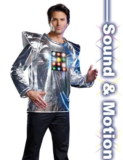 Dreamgirl Robot A Boom funny robot costume for guys, $3499 #Robot - cool halloween costume ideas for guys
