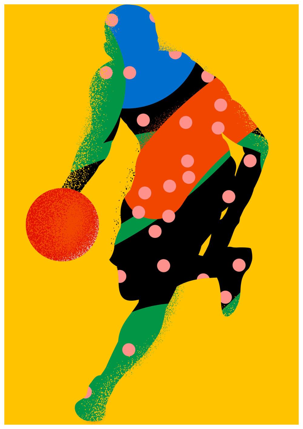 Karan Singh creates vibrant illustrations for the