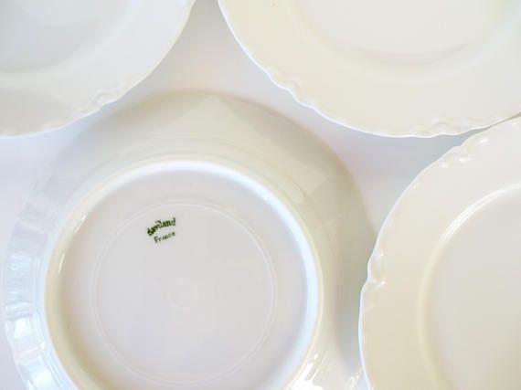 Haviland France Small Plates Bread Butter Set 6 White   Haviland Limoges   Pinterest   Small plates White porcelain and Dinnerware & Haviland France Small Plates Bread Butter Set 6 White   Haviland ...