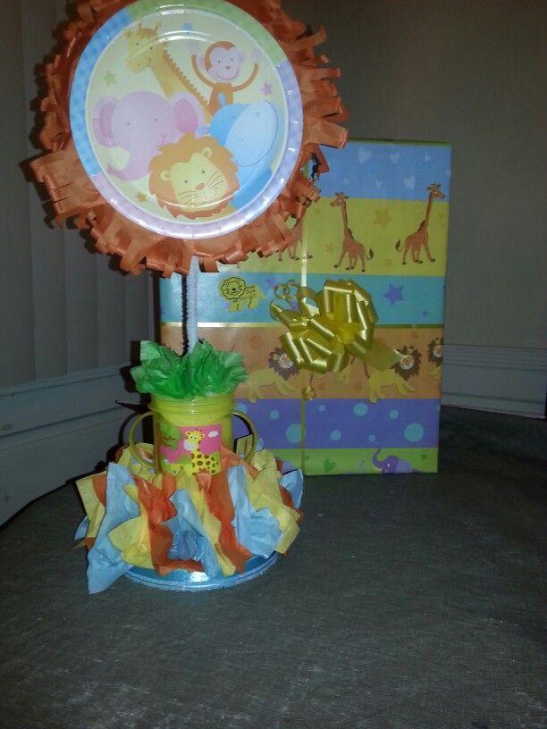 Baby Shower Centerpieces (paper plates tissue paper foam u0026 & EZ DIY.. Baby Shower Centerpieces (paper plates tissue paper foam ...