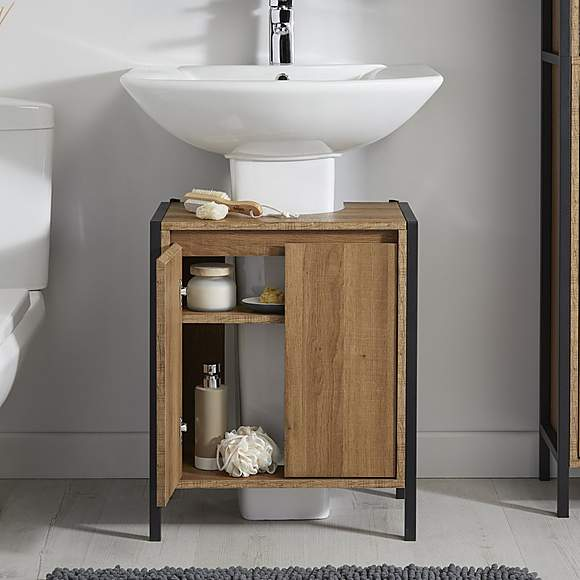 Industrial Under Sink Unit Under Sink Unit Under Pedestal Sink Storage Toilet And Sink Unit