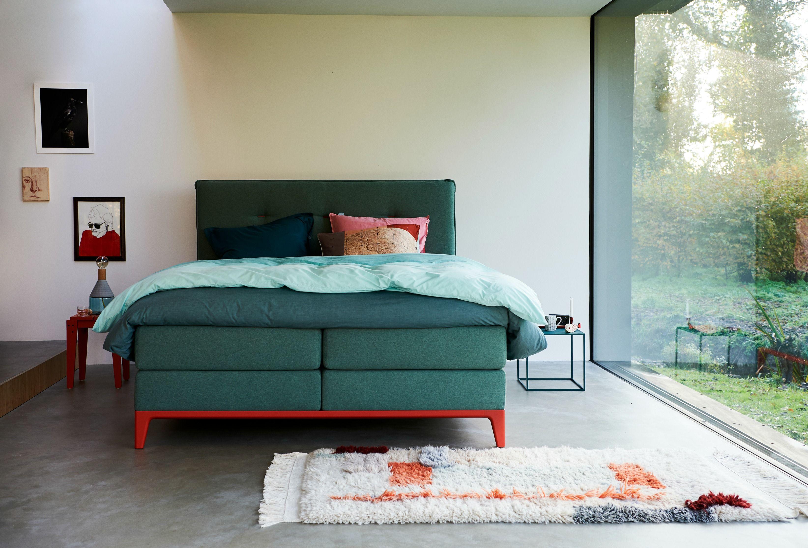 Schlafzimmer Bilder ~ Boxspringbett criade mit dem kopfteil cushion: der blickfang in