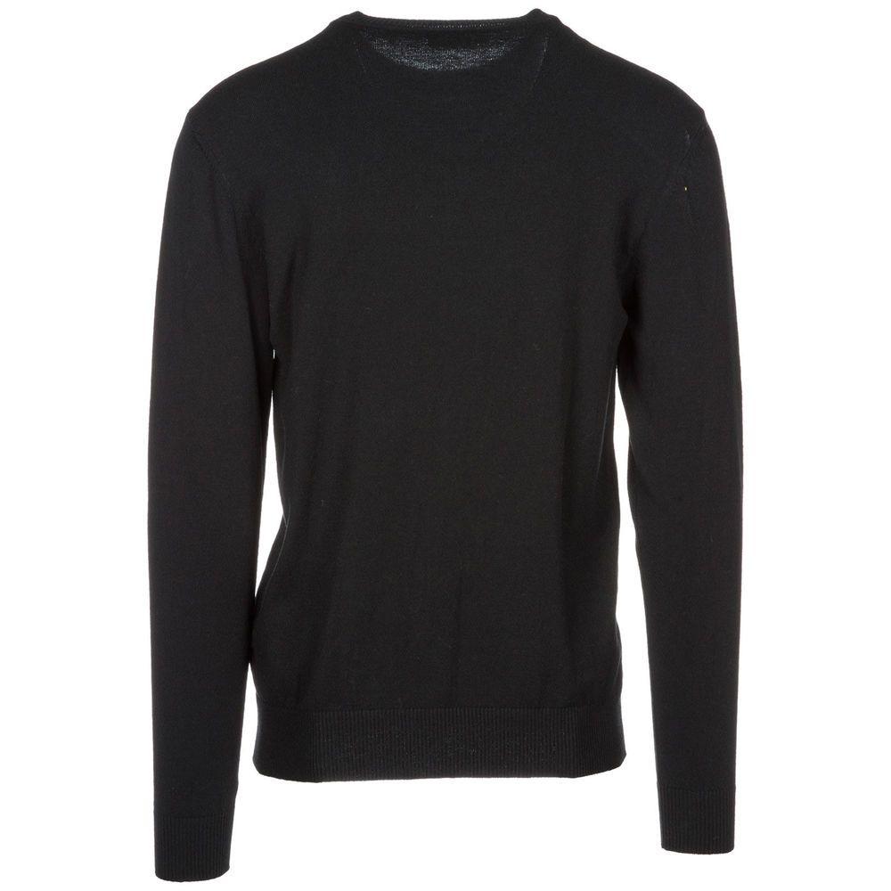 eBay  Sponsored VERSACE JEANS MEN S CREW NECK NECKLINE JUMPER SWEATER  PULLOVER NEW BLACK 259 8f34f4651e0