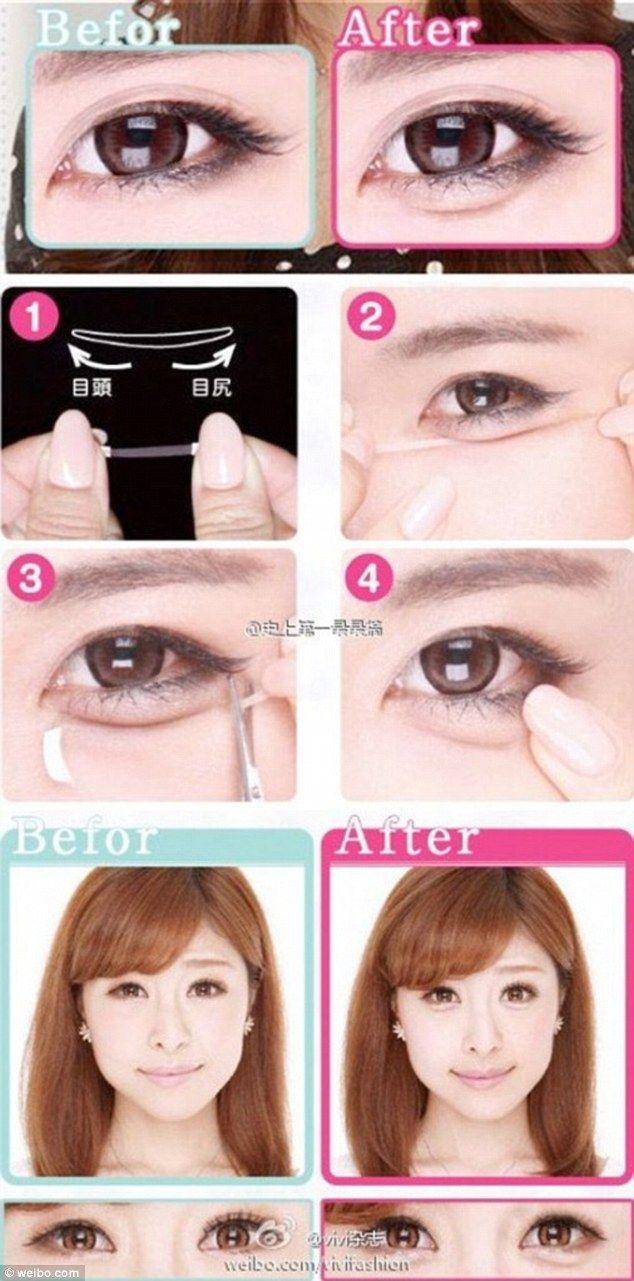 Why Are Korean Women Having Surgery To Make Their Under Eye Bags Bigger Korean Eye Makeup Korean Makeup Tips Puffy Eyes